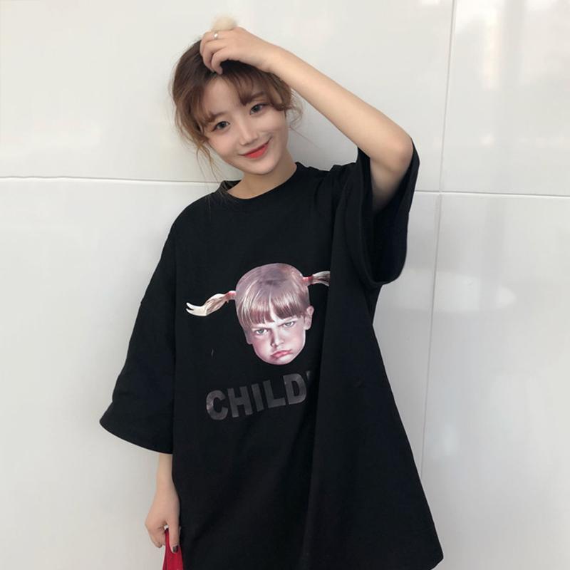 【tops】カジュアル個性プリントTシャツ20292460