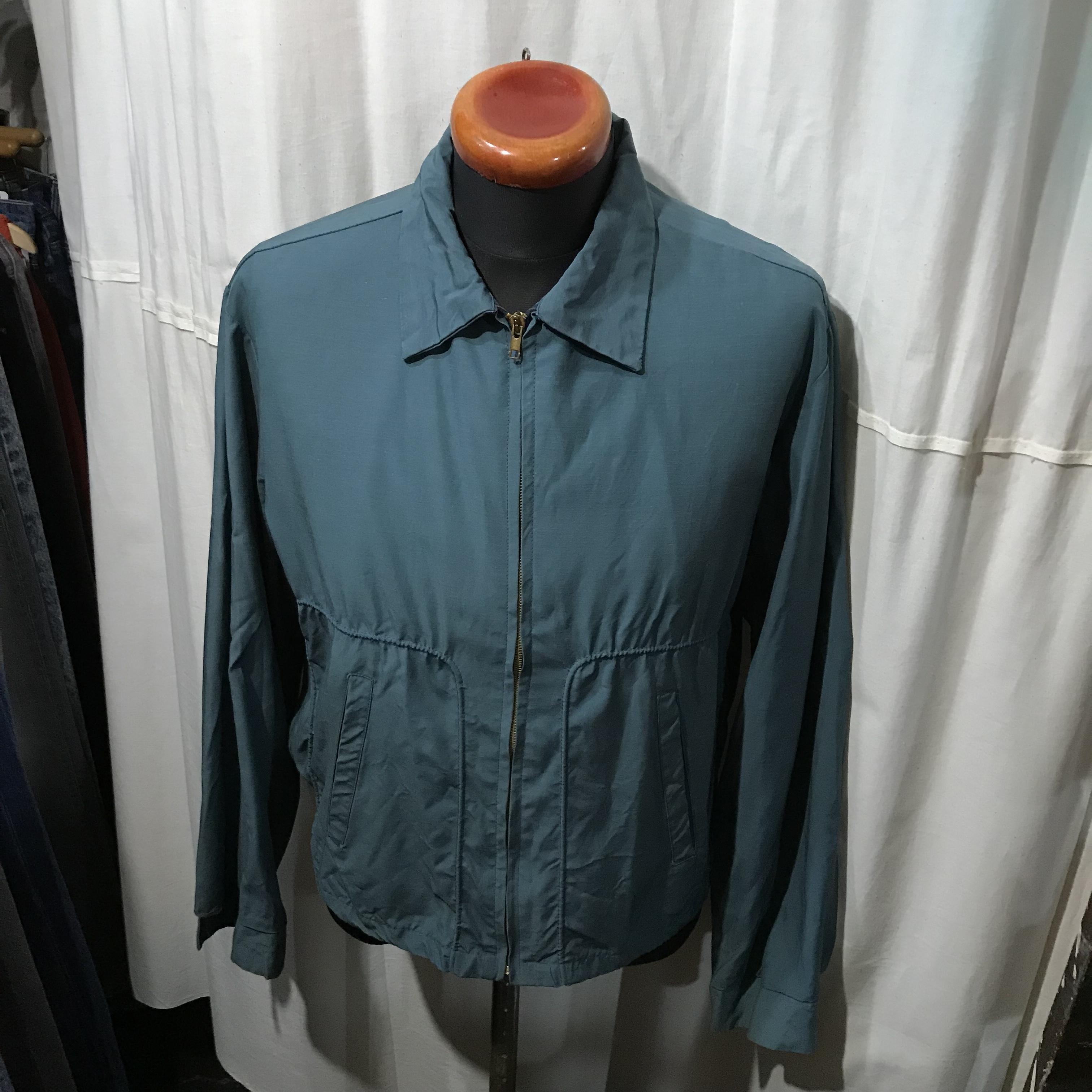 50's~60's vintage Sportswear スポーツウェア スイングトップジャケット メンズL