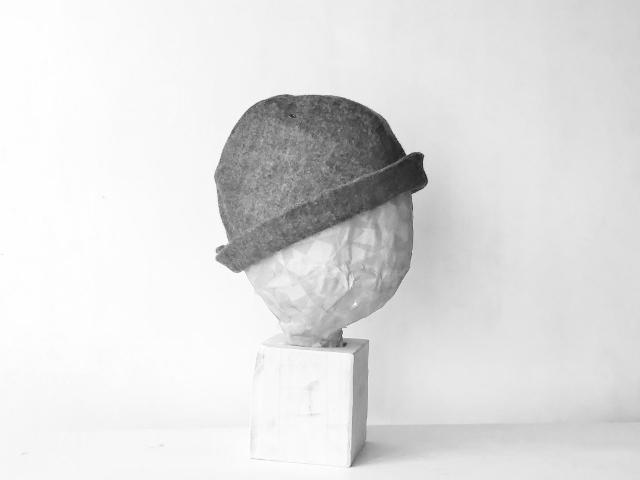 HELMA HAT | FUWA KIMOU COTTON  BROWN【M,L】