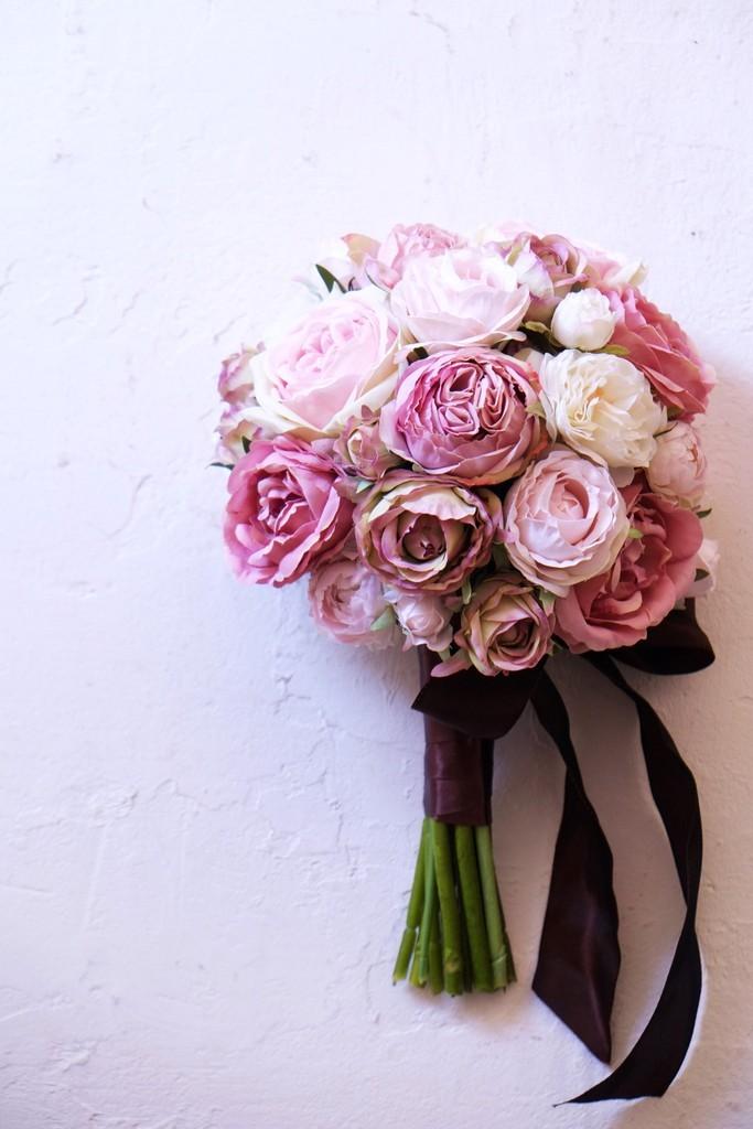 〖 オーダーメイド 〗アーティフィシャルフラワーのウェディングブーケ / 造花のブーケ・Item No,4124260