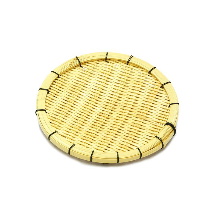 白竹柾縁そば皿(7寸)足付 【60-126】