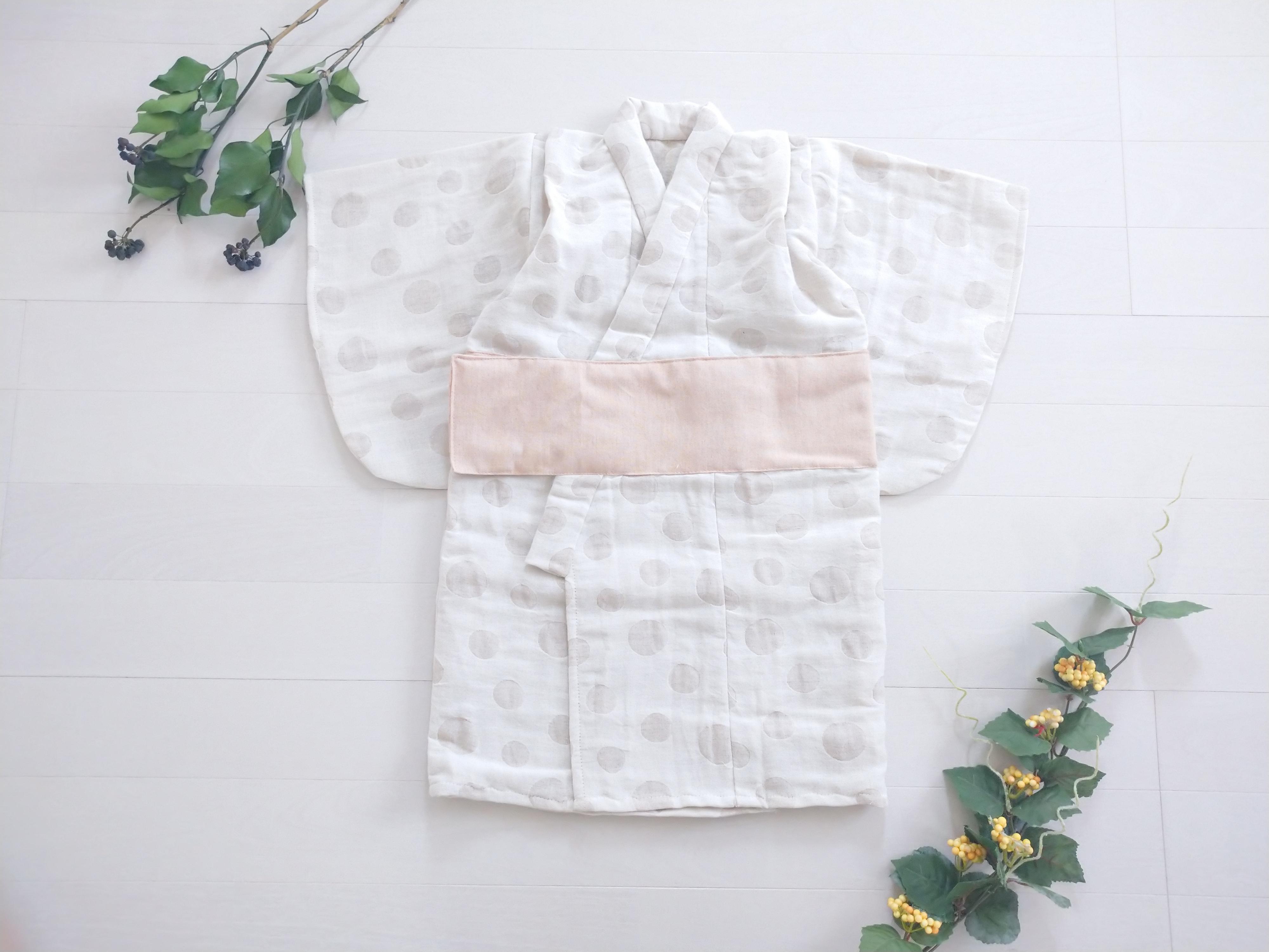 【O様専用】ファースト着物プレミアム袴セット オーガニックコットン リネン