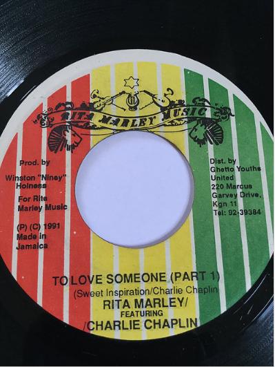 Rita Marley(リタマーリー) & Charlie Chaplin(チャーリーチャップリン) - To Love Somebody【7'】