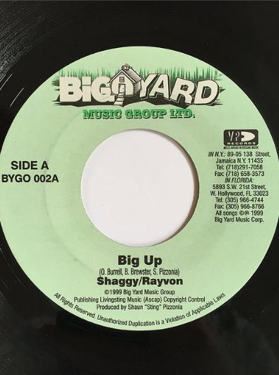 Shaggy(シャギー) & Ravon(レイボン) - Big Up【7'】