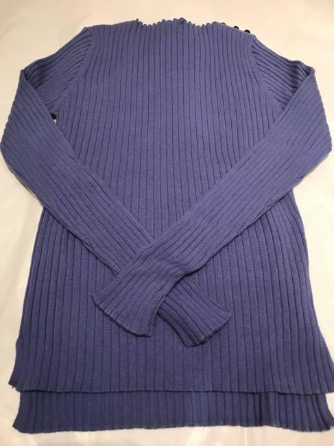 【定番人気セーター入荷しました♪】コットンカシミヤセーター   ALDRIDGE ✕blendo アルドリッジ×ブレンドオ コラボ        ラベンダー