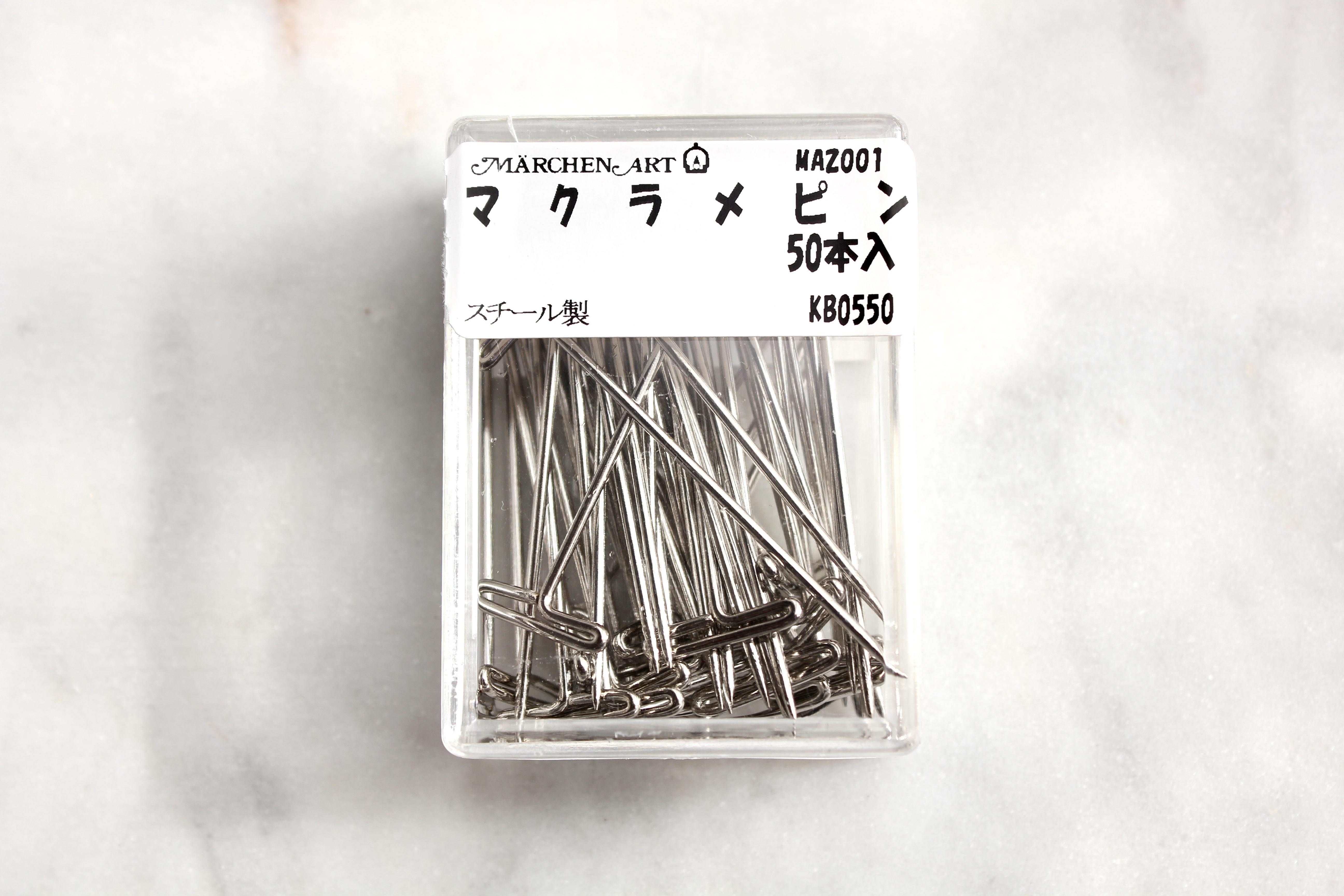 マクラメピン(50本入り)