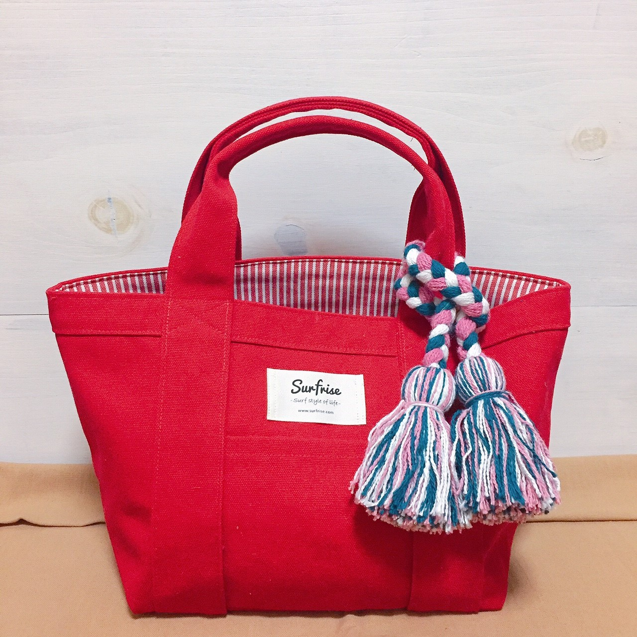 Tote bag S - Red