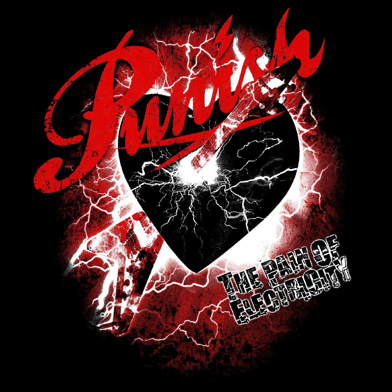 Tシャツ(メンズ完売)+ステッカーset:Punish - 画像2