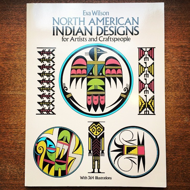 デザインの本「North American Indian Designs」 - 画像1