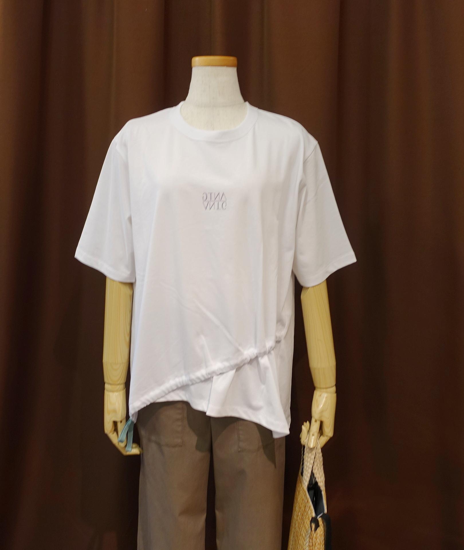 21091   アシメドロストT シャツ