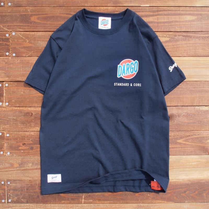 """【DARGO】 """"Trade Mark"""" T-shirt (NAVY)"""
