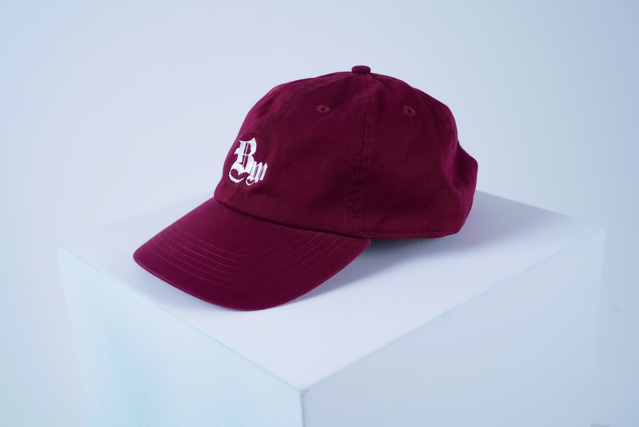 BW COTTON CAP [WINE]