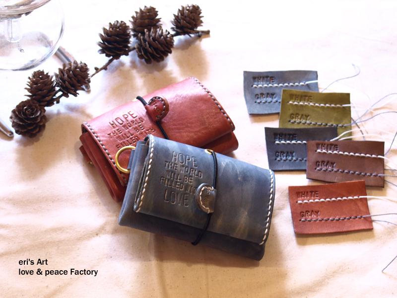 受注休止中【受注生産】コンパクト財布01 5色からお選び頂けます OD-W-01-01