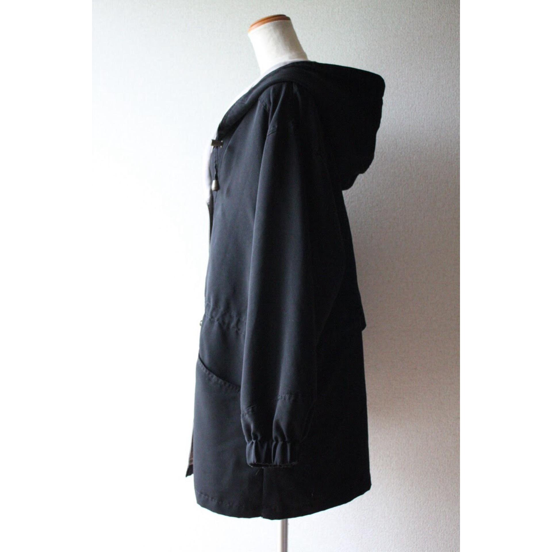Vintage hooded jacket