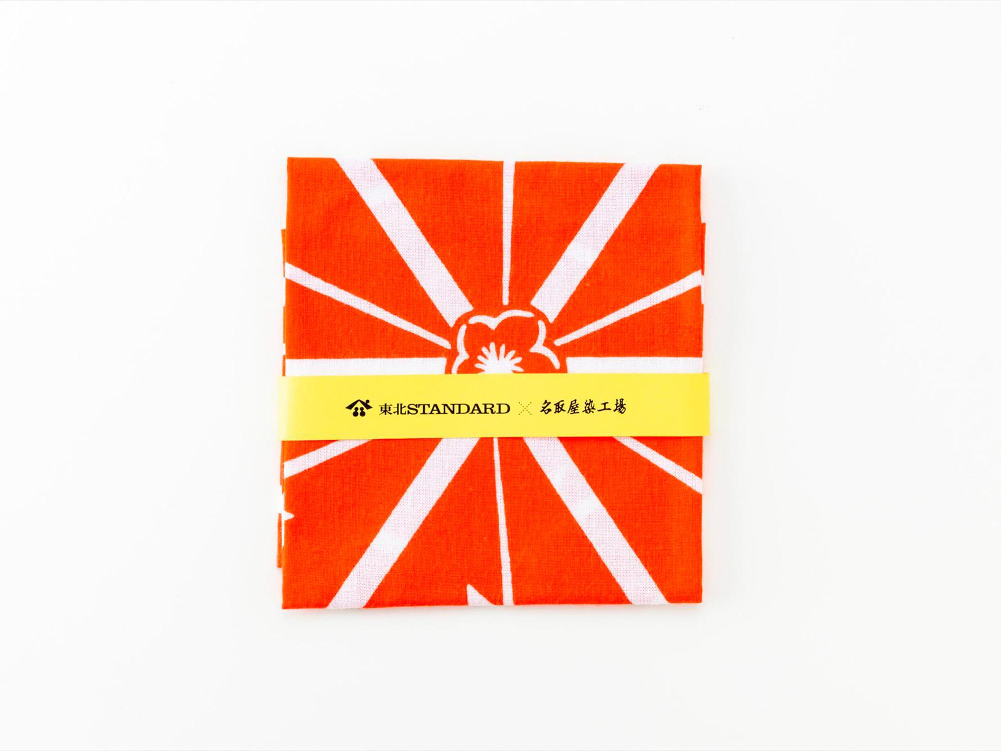 常盤型ハンカチ|梅入り麻の葉