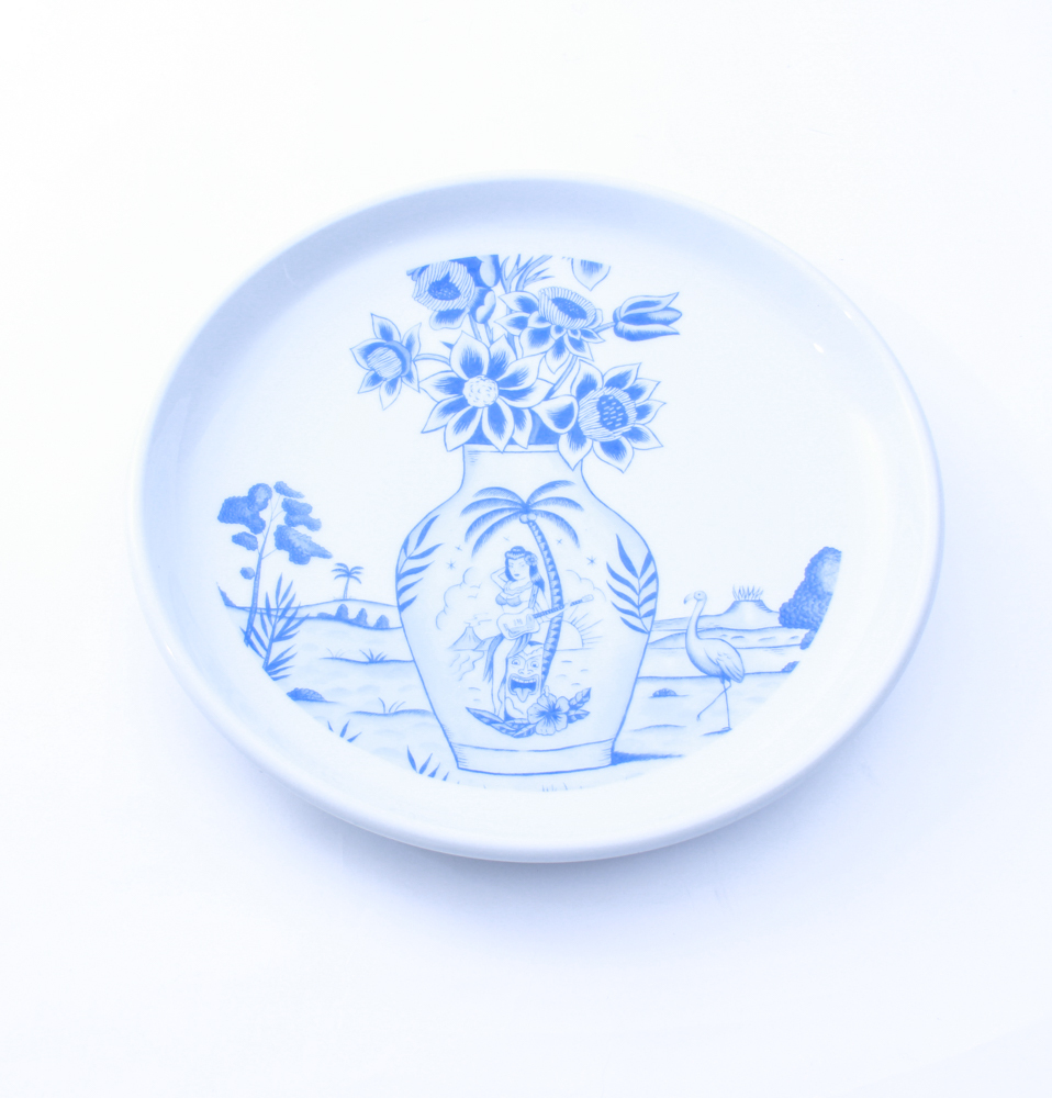 【SON OF THE CHEESE】SERGIO MORA PLATE FLOWER(WHT)