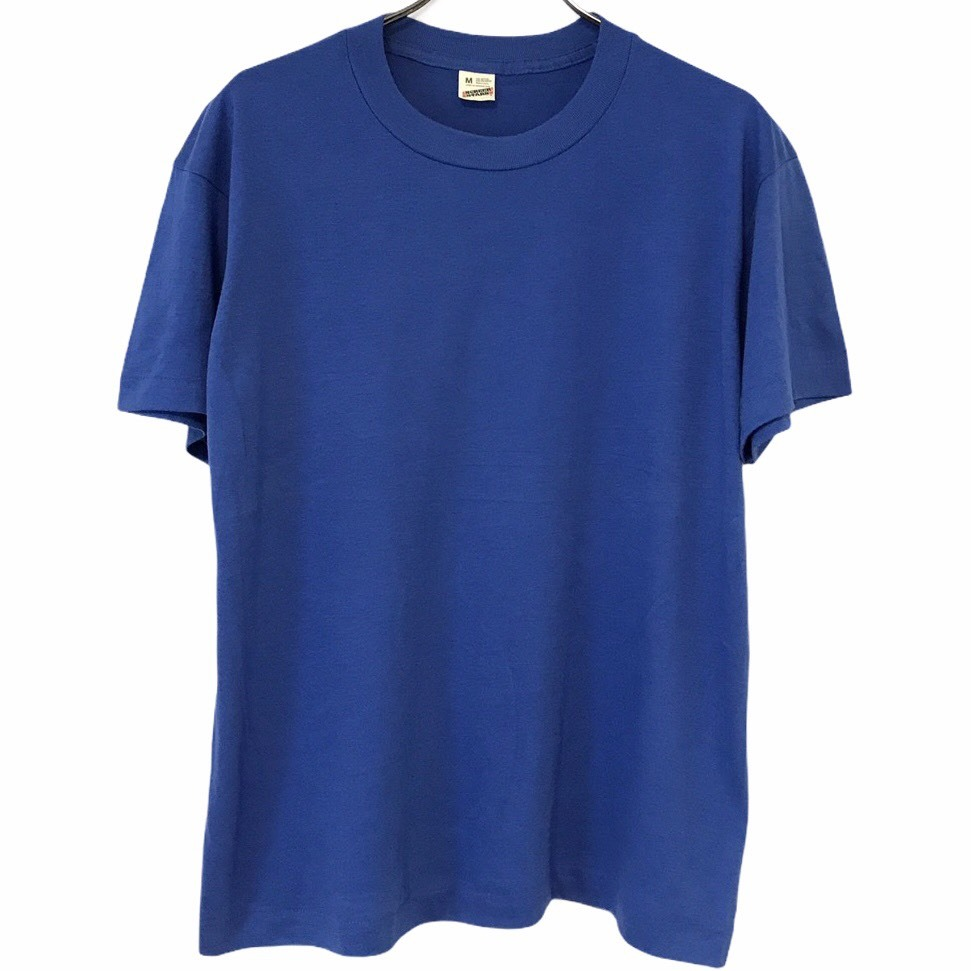 Dead Stock! 80's SCREEN STARS T-shirt made in USA Blue