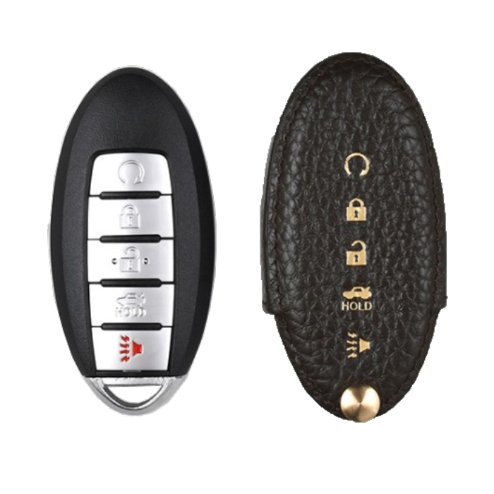 Nissan 専用 TypeA Car Key Case Shrink Leather Case