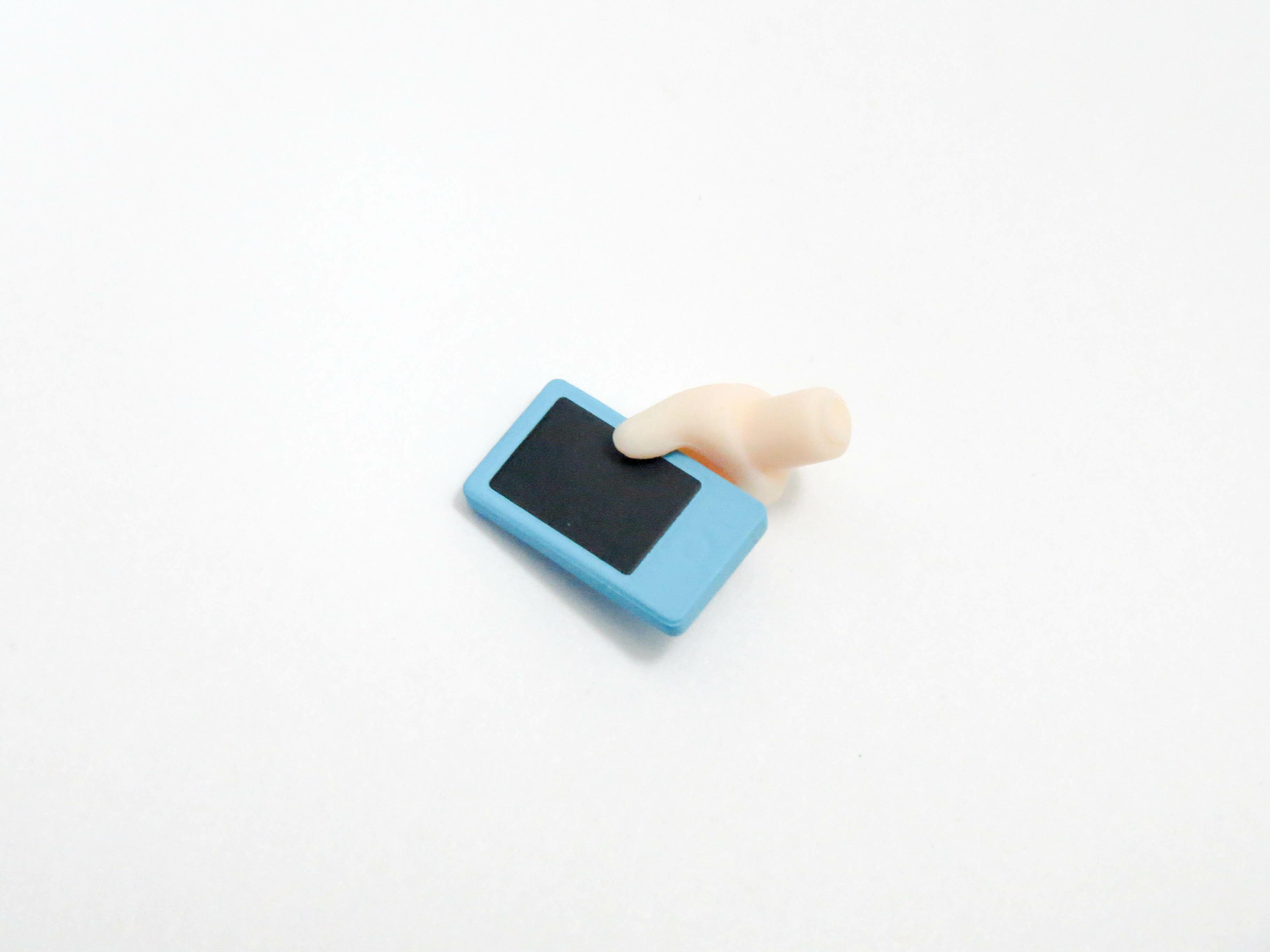 【981DX】 志摩リン DX Ver. 小物パーツ 携帯電話 ねんどろいど