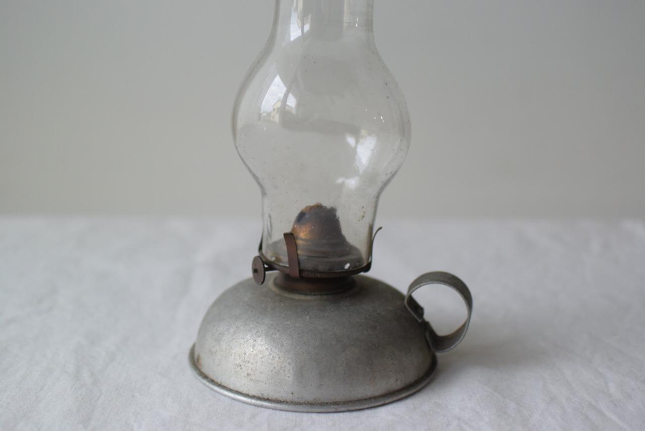 アルミのオイルランプ