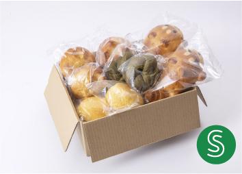 【大人気!動物パンも入った】まころパンおまかせボックスSサイズ