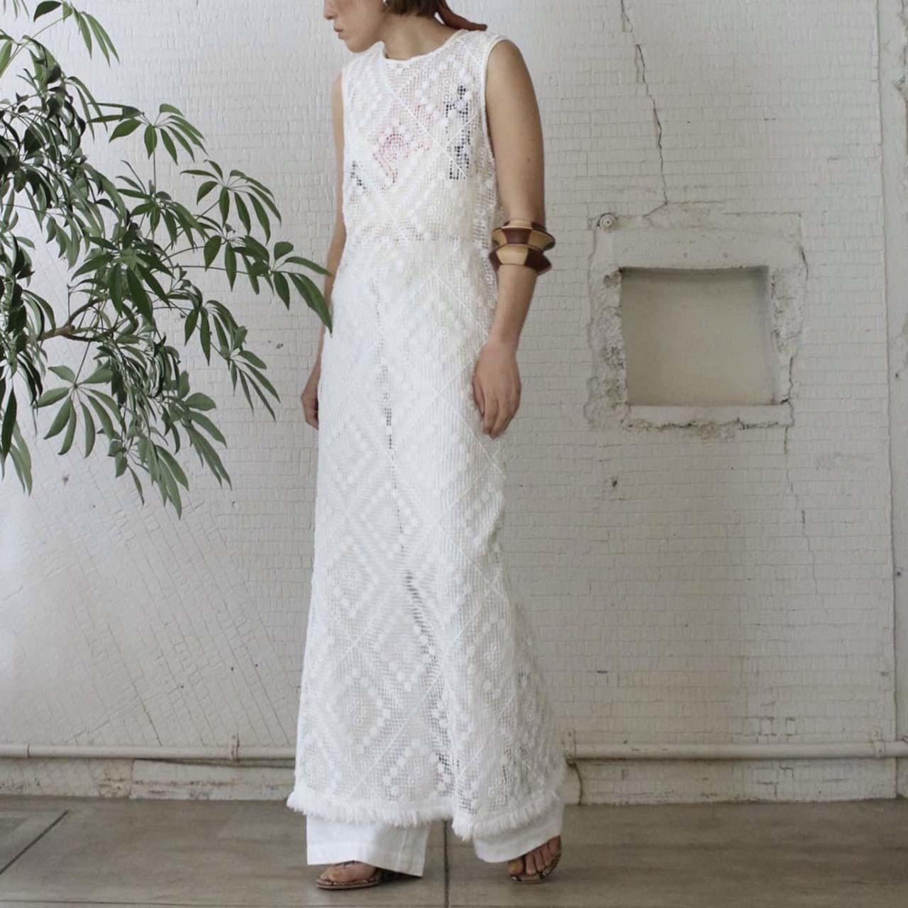 【nowos】LACE  ONEPIECE
