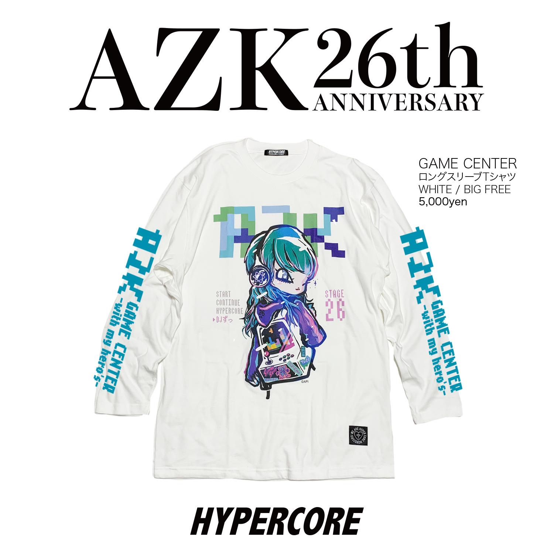 "L-104 澁谷梓希×HYPER COREコラボレーション""GAME CENTER""ロングスリーブTシャツ"