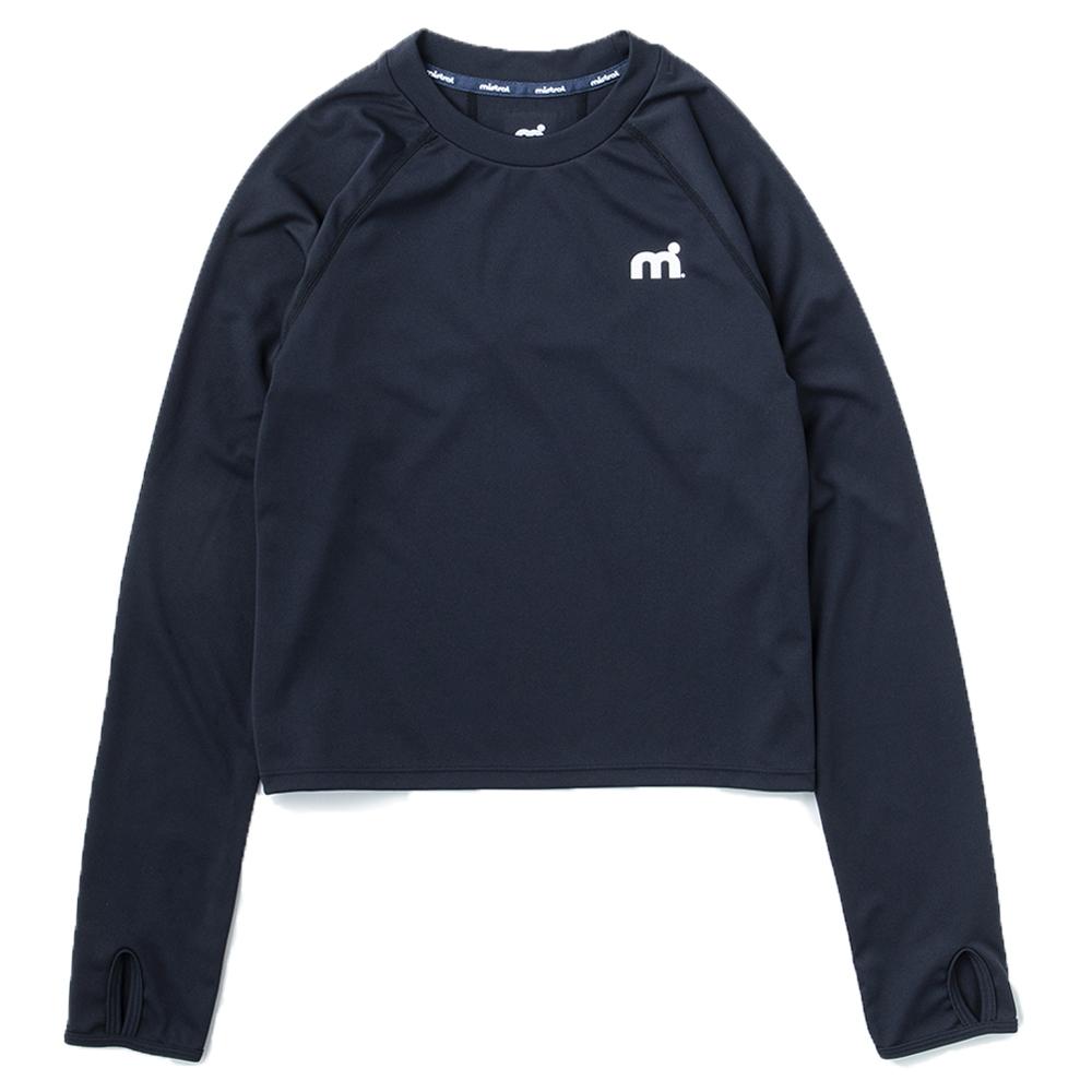 ミストラル ウィメンズ [ ミストアクティブロングTシャツ ] BLACK