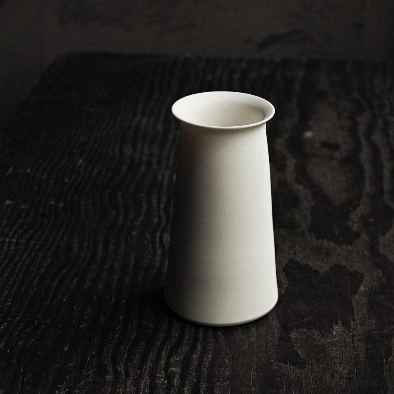 花器白 murakami yuji