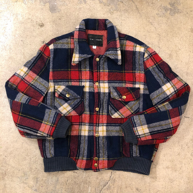 Towncraft Plaid Jacket ¥7,800+tax