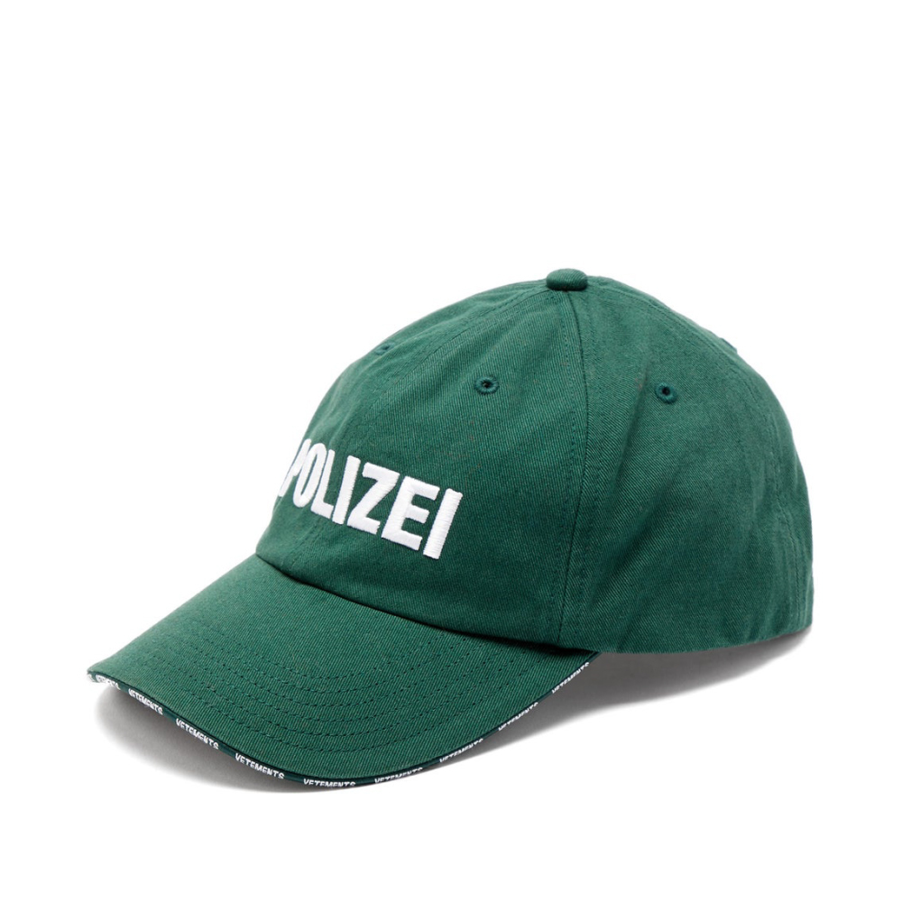 VETEMENTS POLIZEI CAP キャップ / GREEN / 2019AW
