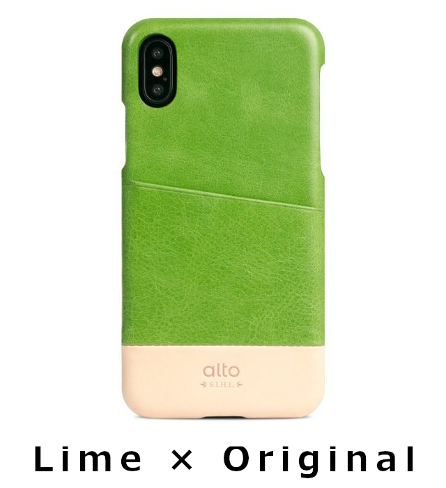 【X/XS対応】alto Metro for iPhone XS case