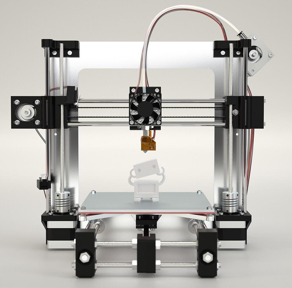 atom 3D プリンター 組立キット(ヒーテッドベッド付き) - 画像1