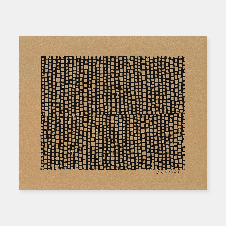 SIWA | 紙和×柚木沙弥郎 SAMIRO YUNOKIM シルクスクリーン作品 03
