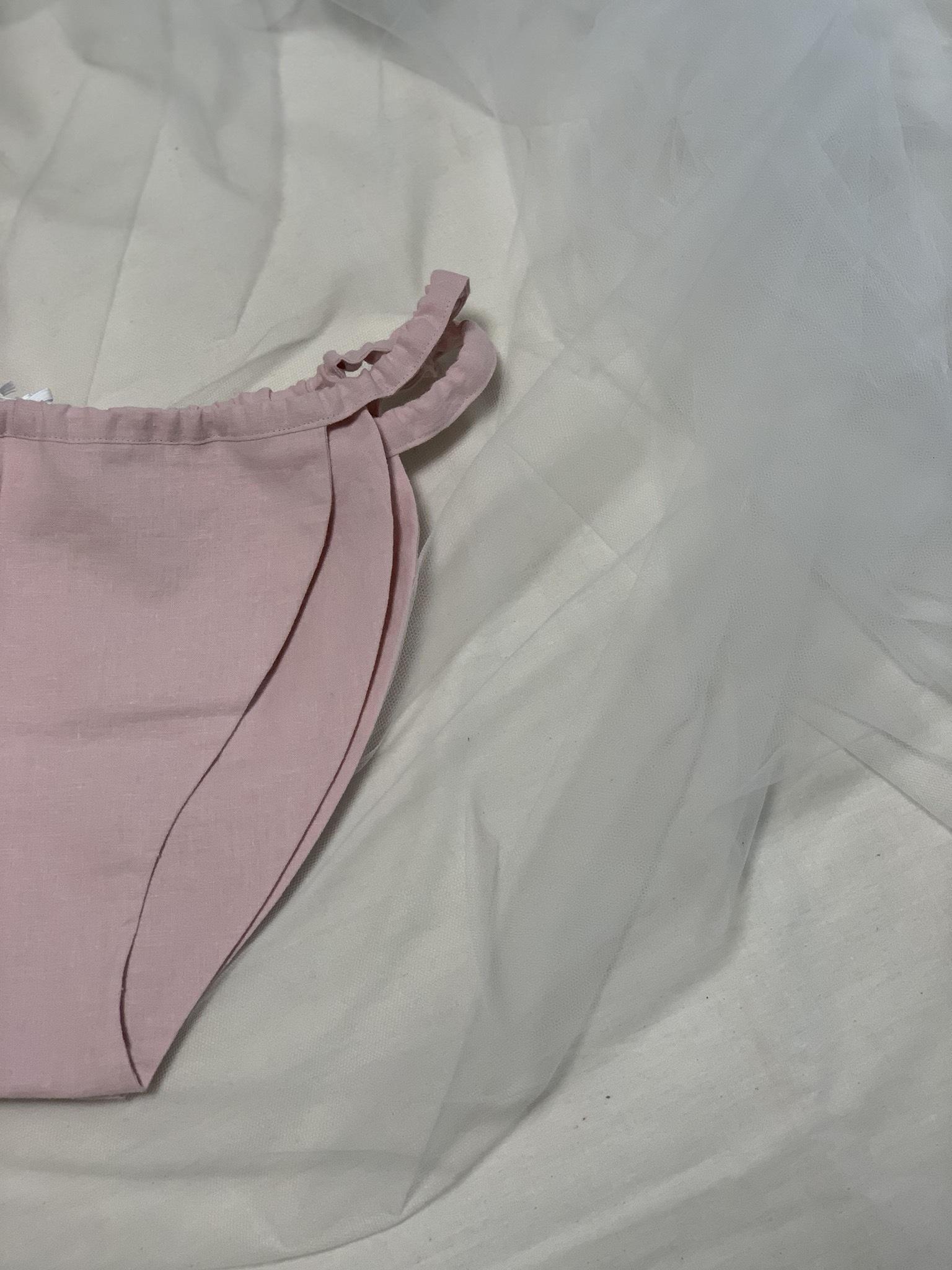 asagoromo*ゴムタイプ 薄ピンク
