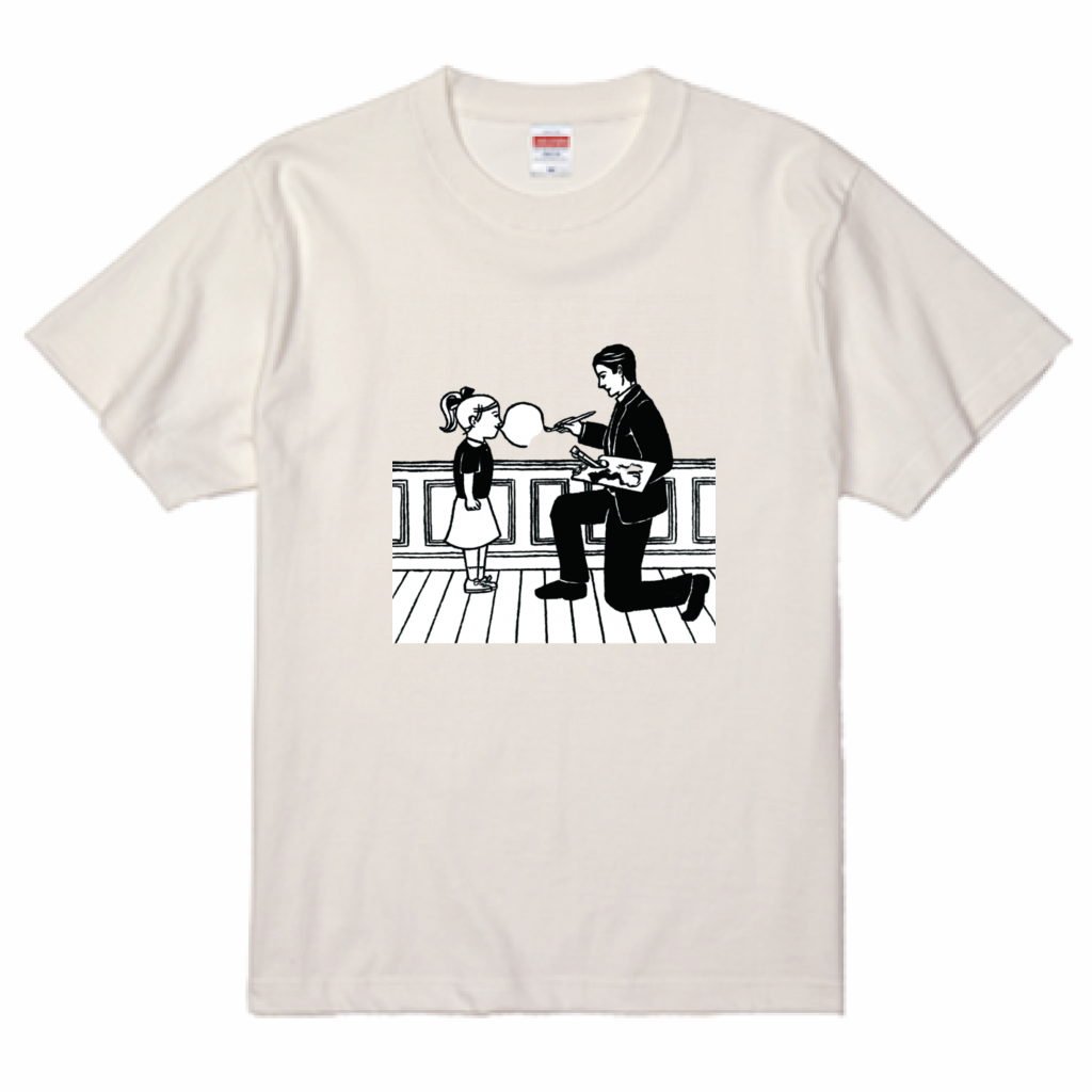たつみなつこ ART 001-T-shirts