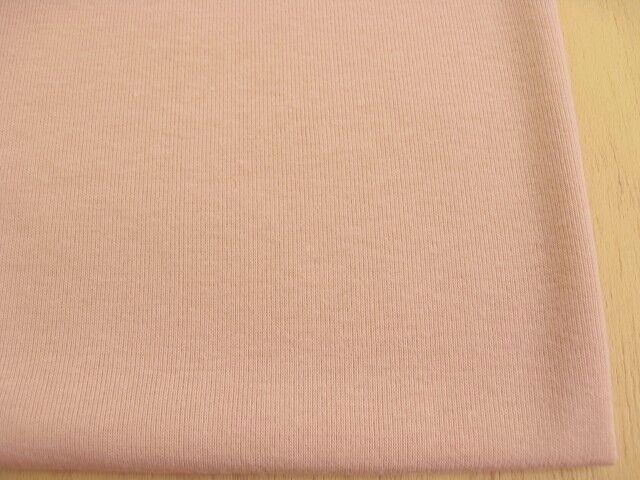 J&B定番 綿コーマ糸フライスニット モスピンク #37 NTM-1094