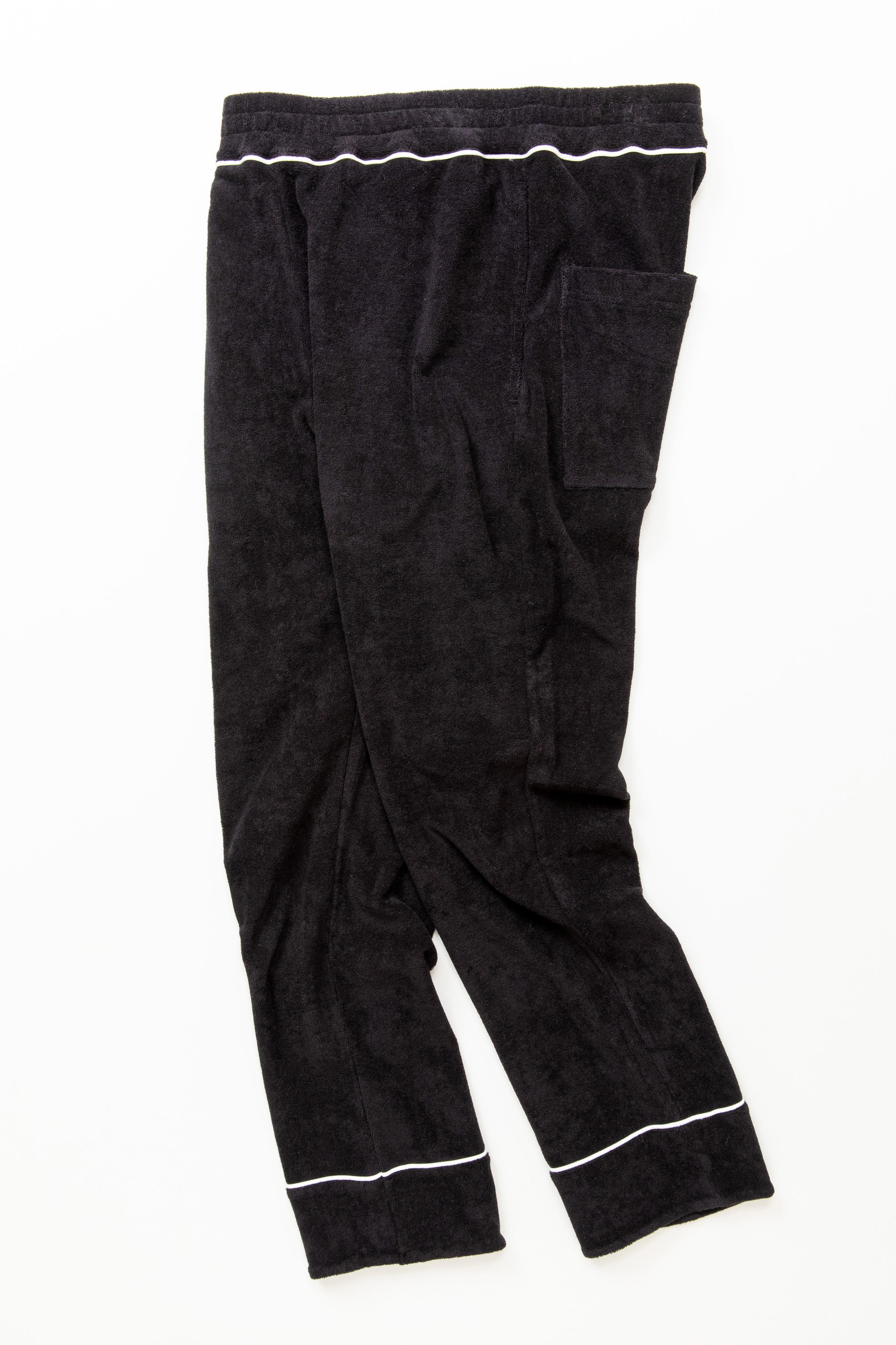 THING FABRICS TF Lose-fitting pants(Organic pilejersey)