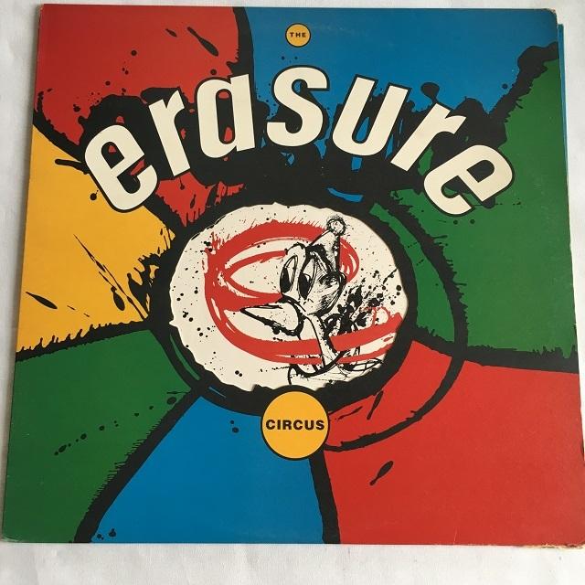 【LP・英盤】Erasure / CIRCUS