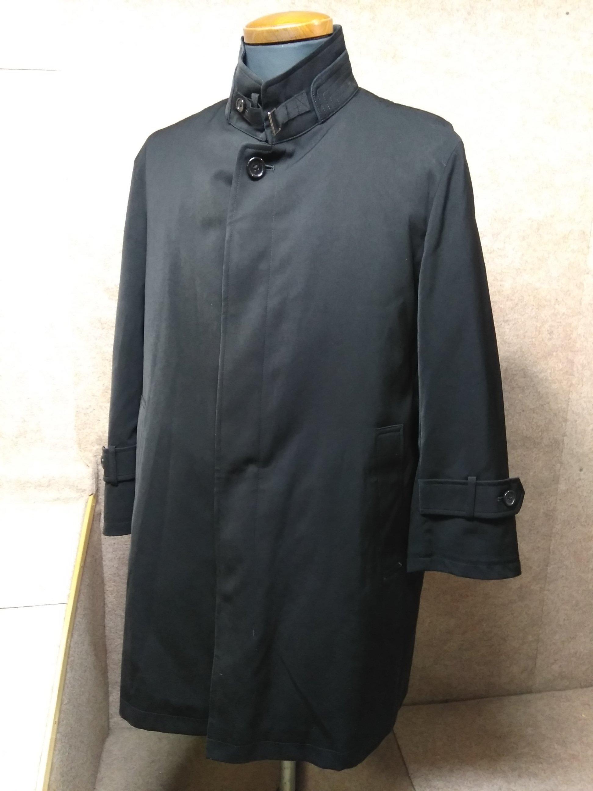ベルモア メンズ コート ライナー付き S 黒 mu358s