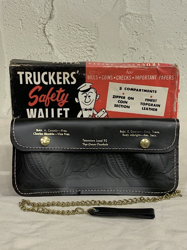 """WALLET """" TRUCKR'S SAFETY WALLET """""""