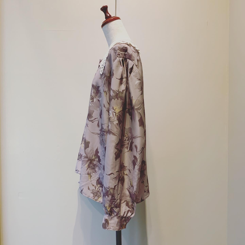【SALE】vintage Euro design blouse