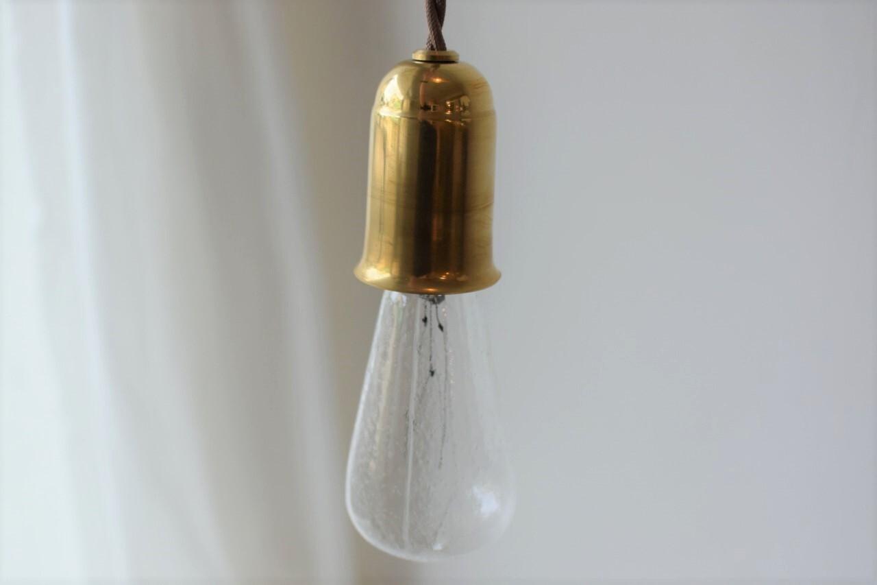 真鍮製ペンダントライト(現行品)