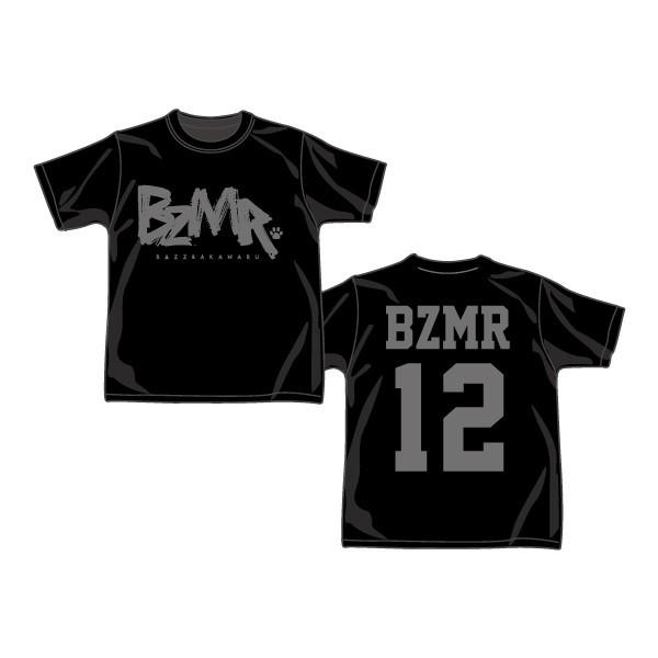 BZMR [Classic LOGO Tee] Black on Black. - 画像1