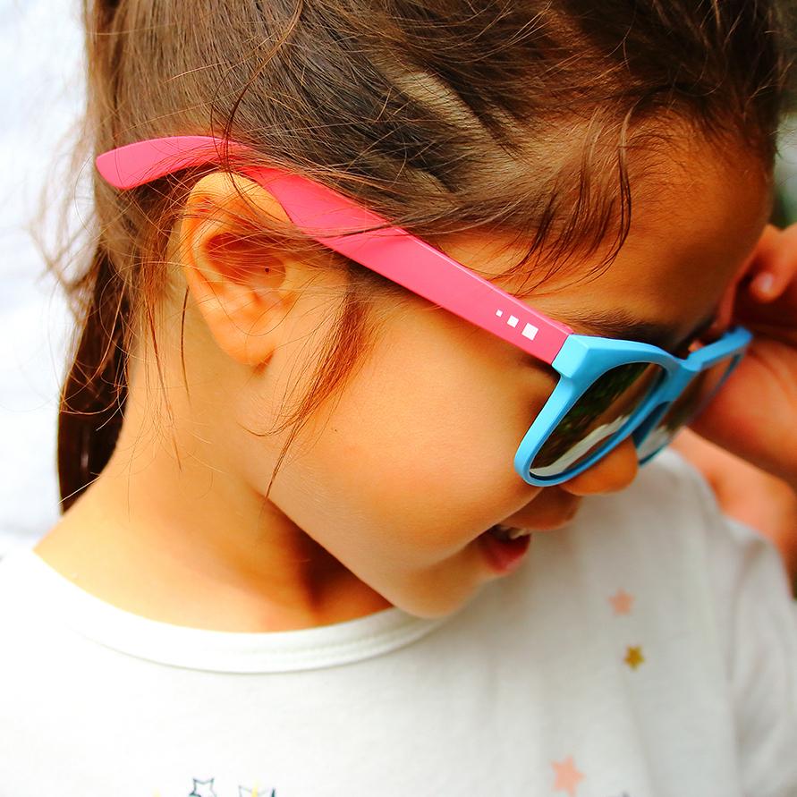 delieb  ULURU シリーズ キッズサングラス(3~12歳用) 日よけ 暑さ対策 お出かけ 紫外線対策