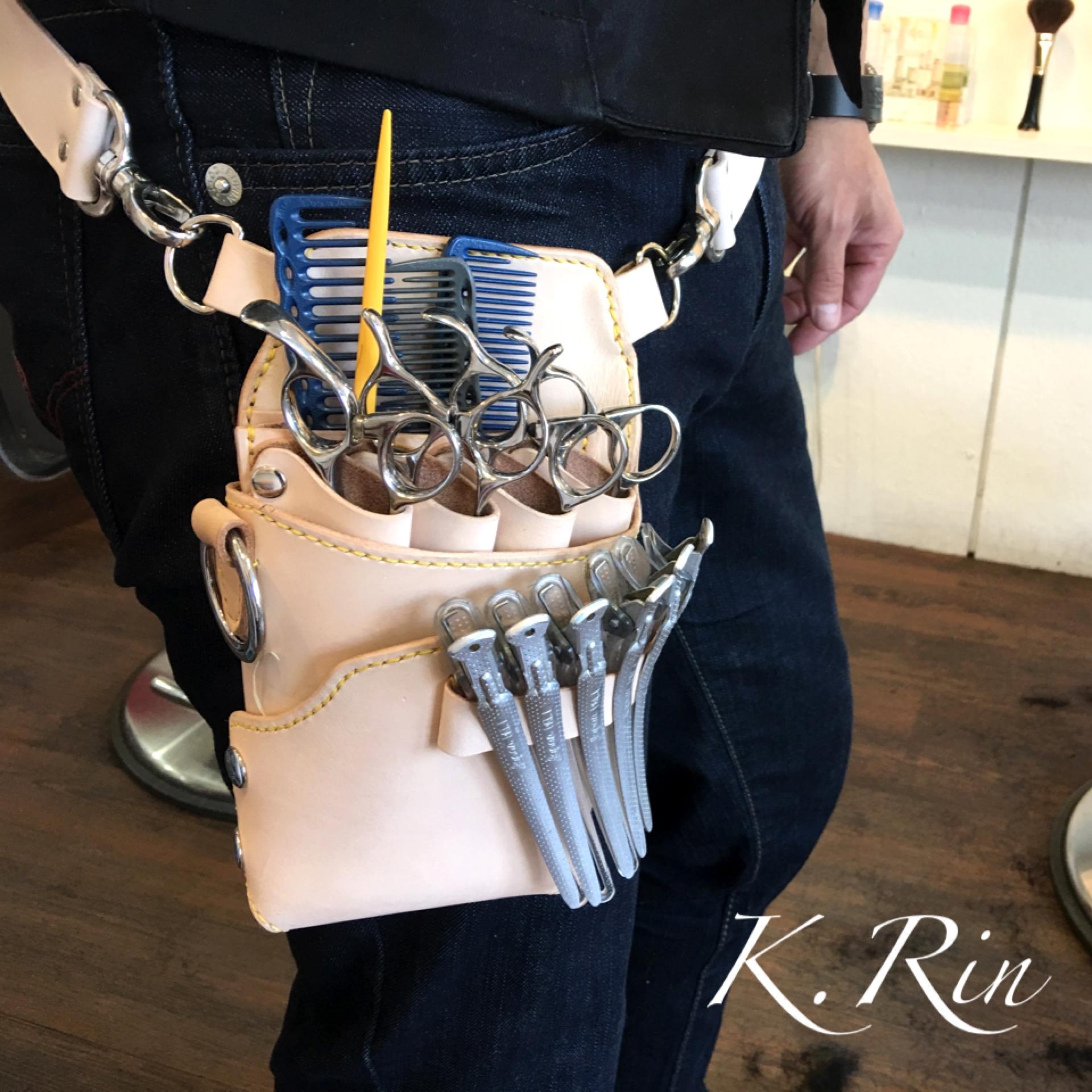 【受注制作可】シザーケース ラフィーノ様モデル