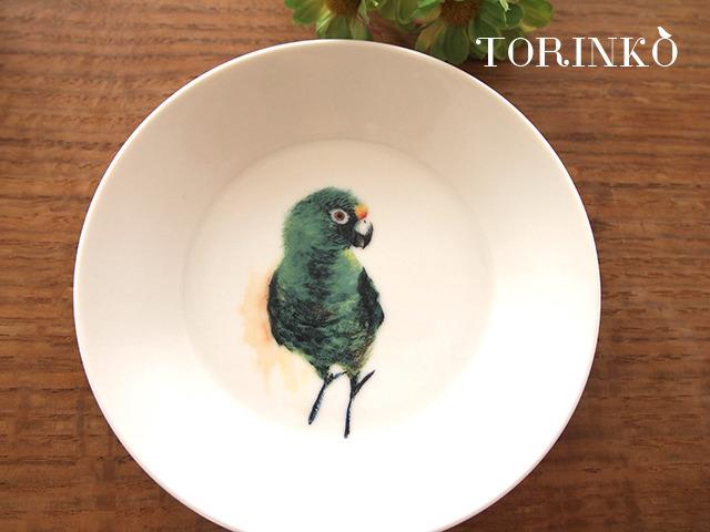 ズアカハネナガインコ お皿 中サイズ(インコ・オウム・鳥)