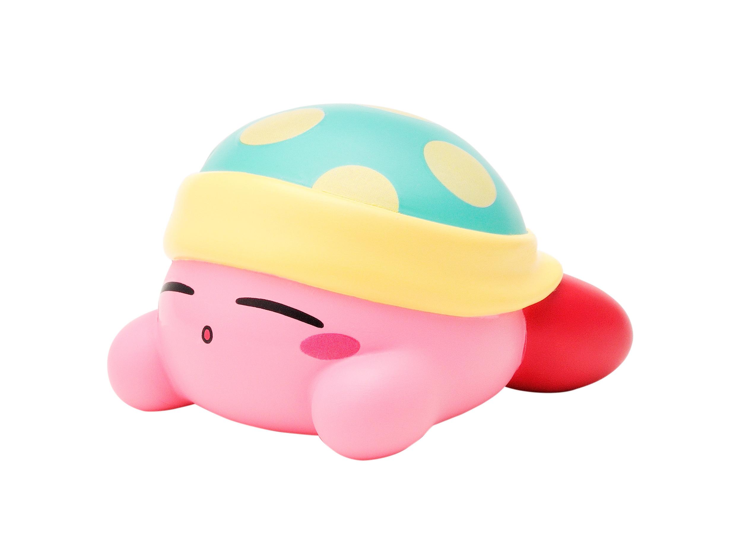 星のカービィソフビコレクション 【スリープカービィ】  Kirby  /  エンスカイ
