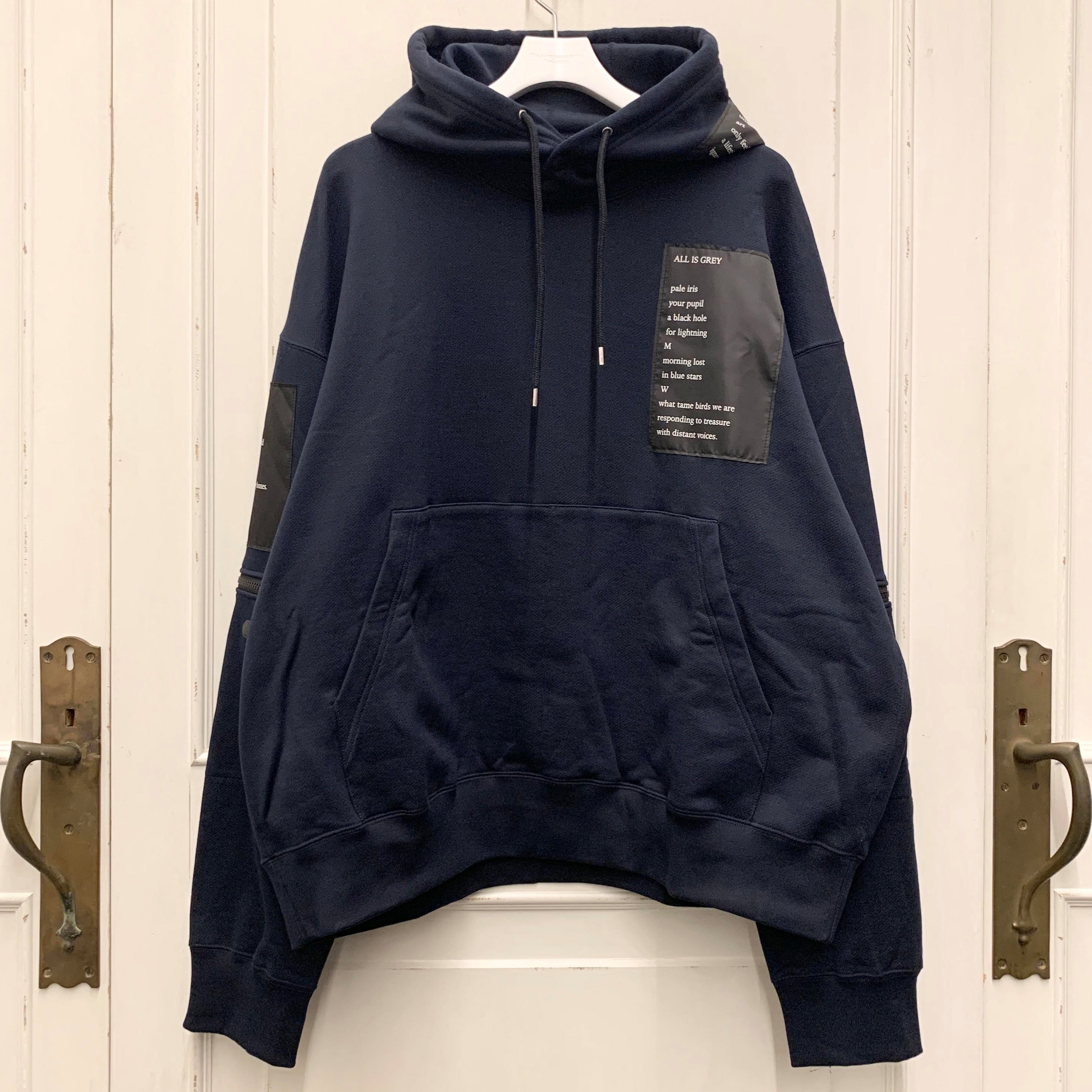 sc.0050AW19 oversized pullover hoodie.