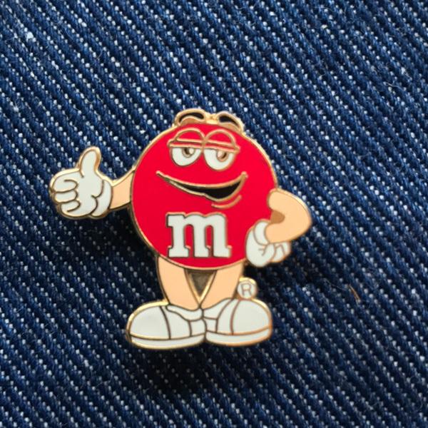 m&m's pin